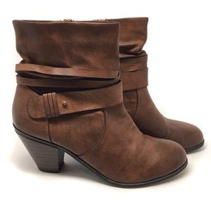 Chinese Laundry LEANNA Ruched Ankle Boot Women 10